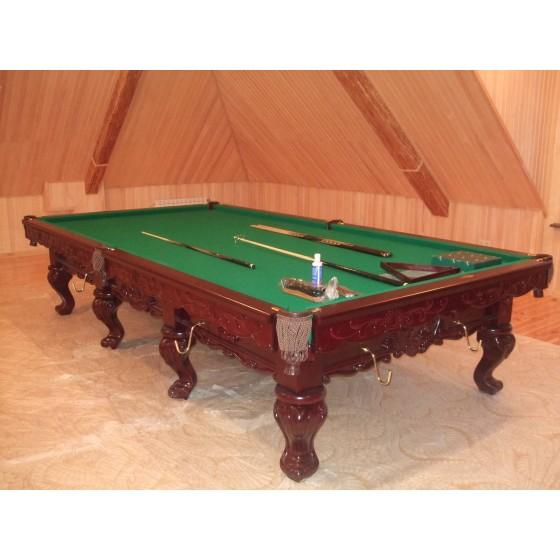 Установка бильярдного стола 11 и 12 футов Цена услуги 2400 грн